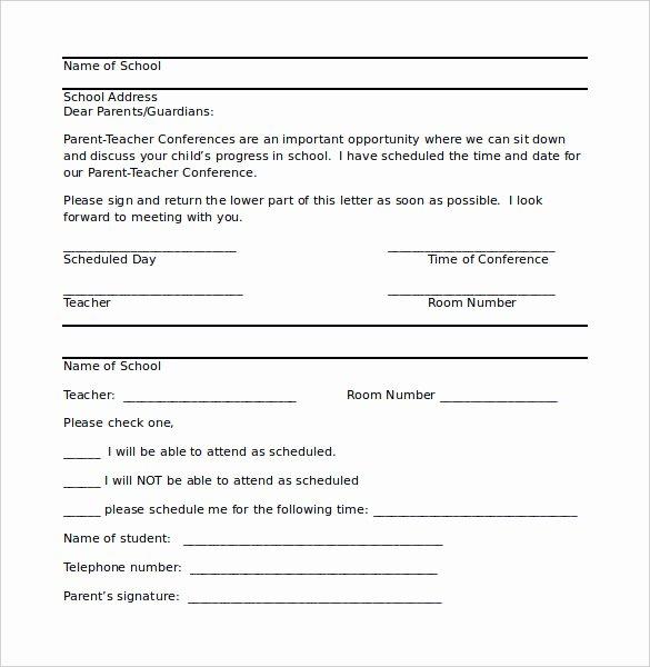 Letter to Parent Template Elegant 8 Parent Letter Templates Free Sample Example format
