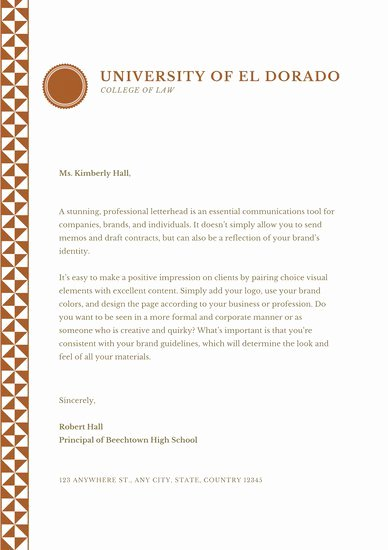 Letter to Parent Template Inspirational Customize 1 064 Letter Templates Online Canva
