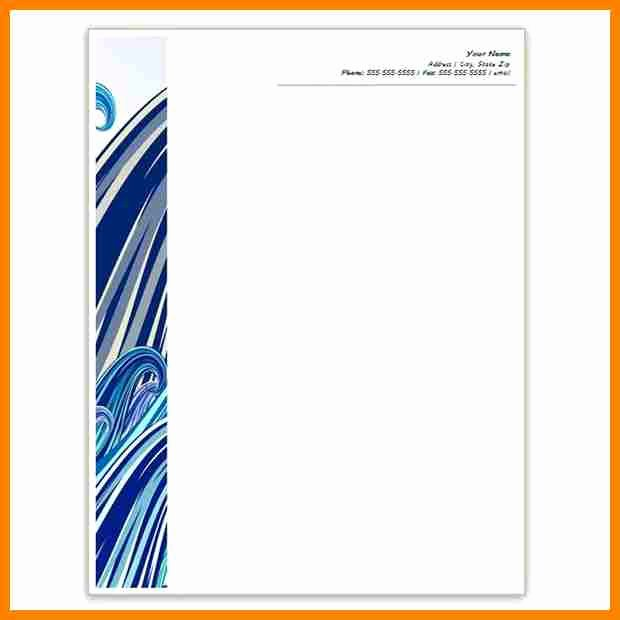Letterhead Template Microsoft Word Awesome 10 Letterhead Templates Word 2010