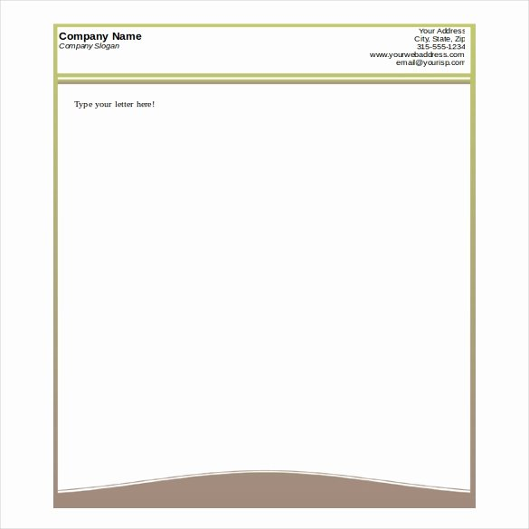 Letterhead Template Microsoft Word Awesome Free Printable Business Letterhead Templates Letter Of