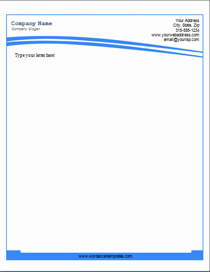 Letterhead Template Microsoft Word Awesome Letterhead Template Word
