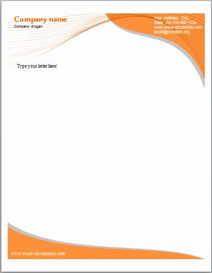 Letterhead Template Microsoft Word Fresh 33 Free Letterhead Templates In Word Excel Pdf