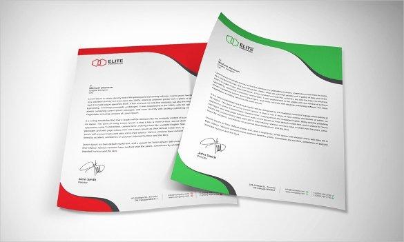 Letterhead Template Microsoft Word Fresh 35 Free Download Letterhead Templates In Microsoft Word