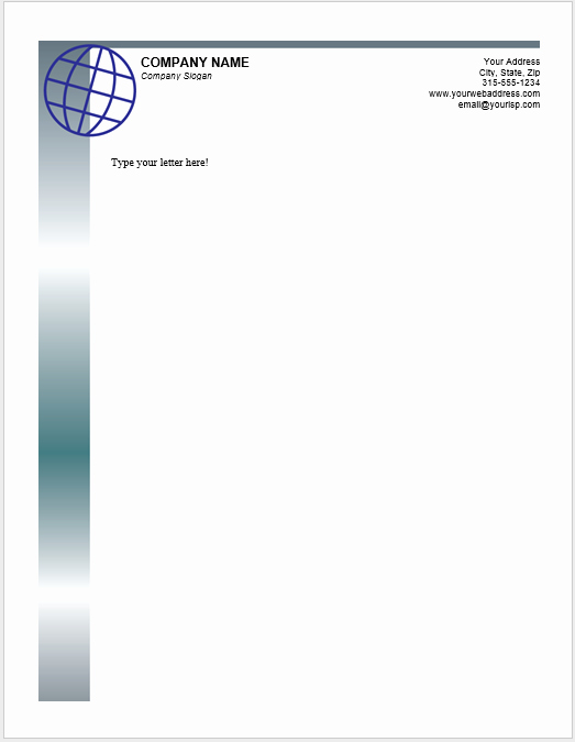 Letterhead Template Microsoft Word Inspirational 38 Free Letterhead Templates Ms Word Templatehub