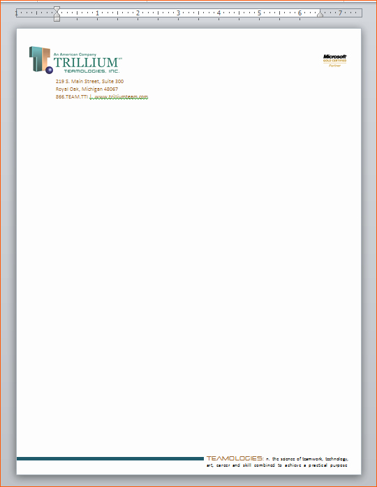Letterhead Template Microsoft Word Luxury 9 Word Letterhead Template