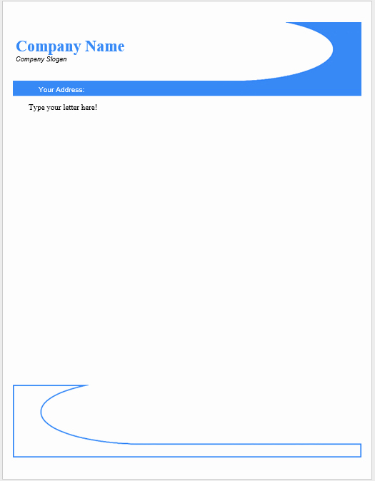 Letterhead Template Microsoft Word New 38 Free Letterhead Templates Ms Word Templatehub
