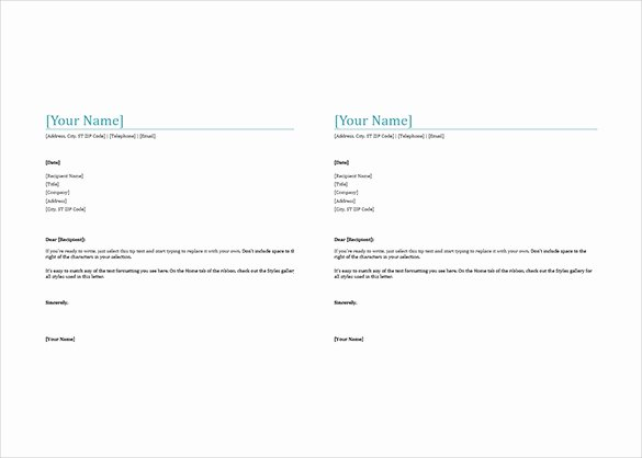 Letterhead Template Microsoft Word Unique 38 Free Download Letterhead Templates In Microsoft Word