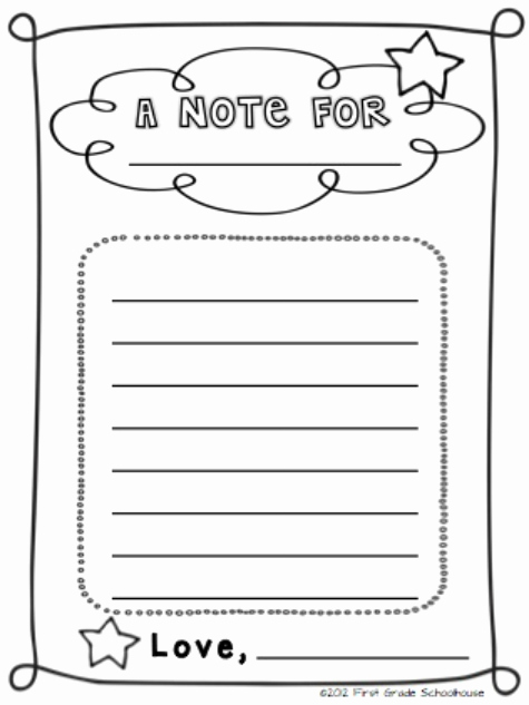 Letters to Parents Template Awesome First Grade Schoolhouse Back to School Night