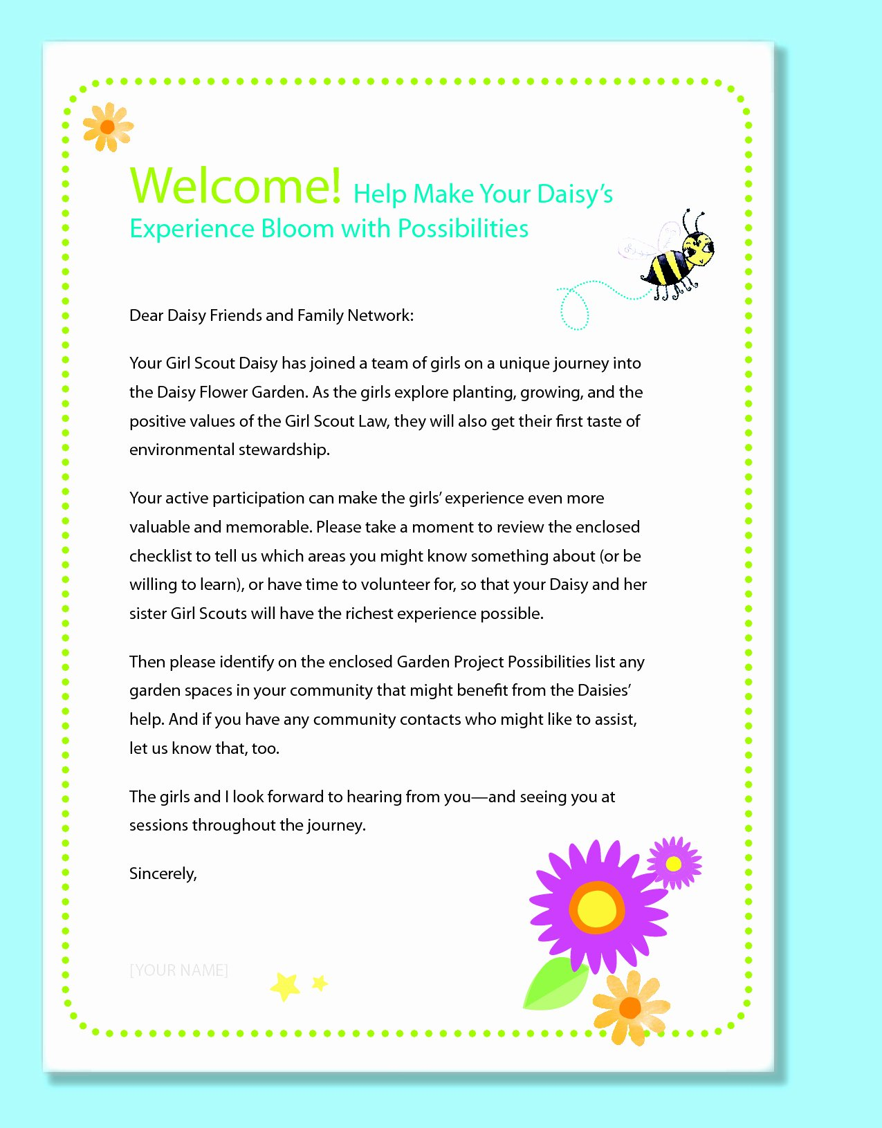 Letters to Parents Template Best Of Preschool Wel E Letter to Parents From Teacher Template