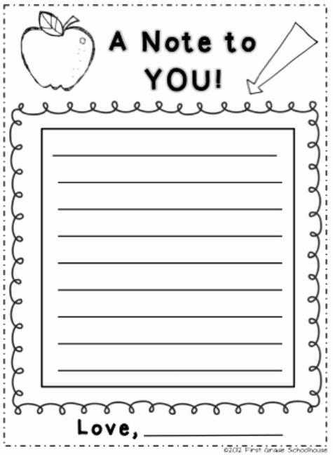 Letters to Parents Template Fresh Pin by First Grade Schoolhouse On Back to School Night