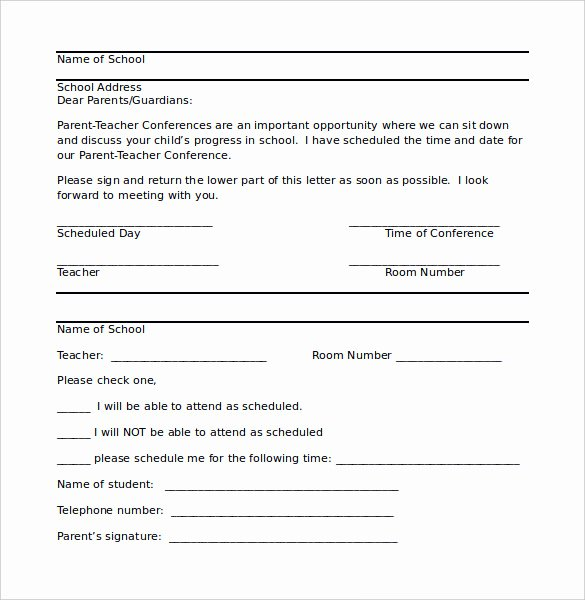 Letters to Parents Template Lovely 8 Parent Letter Templates Free Sample Example format
