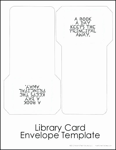 Library Card Template Microsoft Word Elegant Library Book Card Template