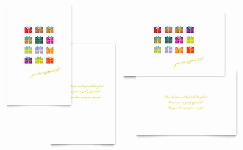 Library Card Template Microsoft Word Unique Christmas Greeting Card Templates Word & Publisher