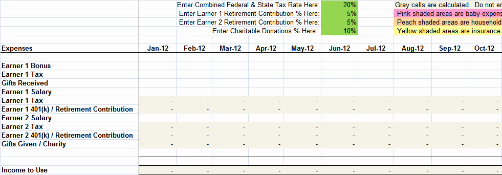 List Of Monthly Expenses Template Elegant Free Sample Monthly Expenses Spreadsheet