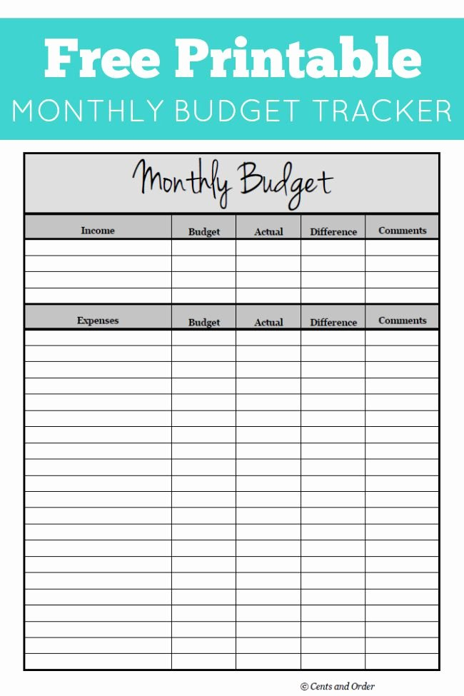 List Of Monthly Expenses Template Inspirational Free Monthly Bud Printable