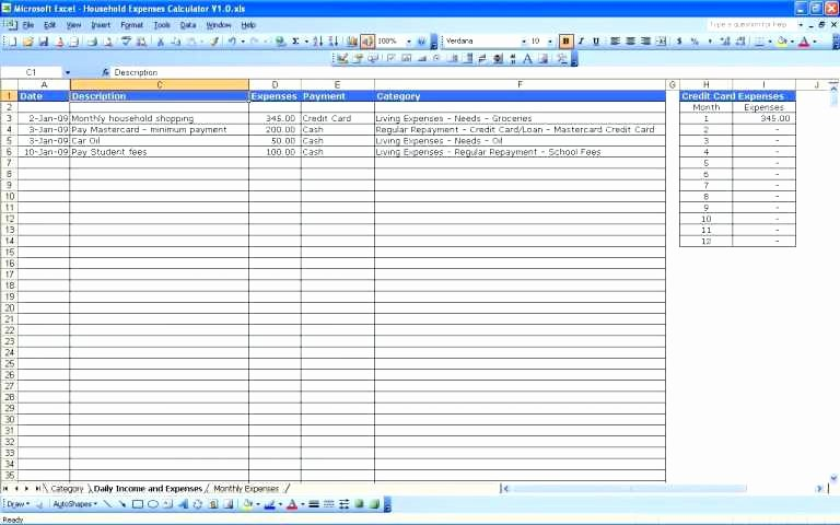 List Of Monthly Expenses Template Unique List Of Monthly Expenses Template – Arabnormafo