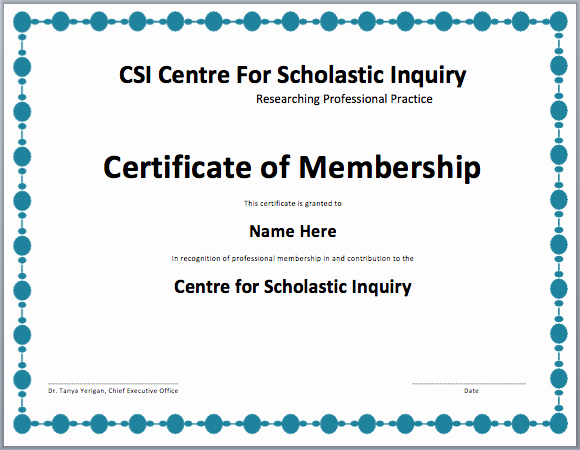 Llc Member Certificate Template Beautiful Membership Certificate Template Free Template Downloads