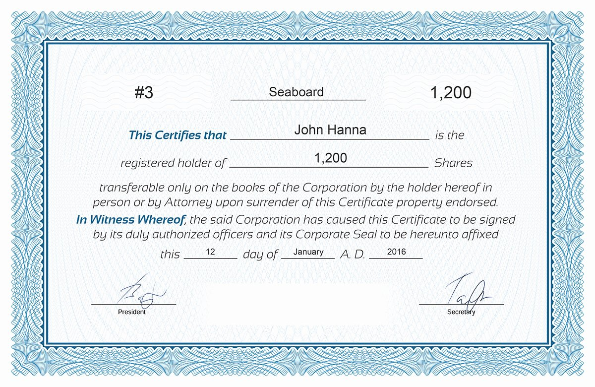Llc Member Certificate Template Elegant Certificate Stock Certificate Template