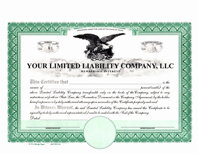 Llc Member Certificate Template Luxury How to form An Llc In south Carolina 12 Steps with