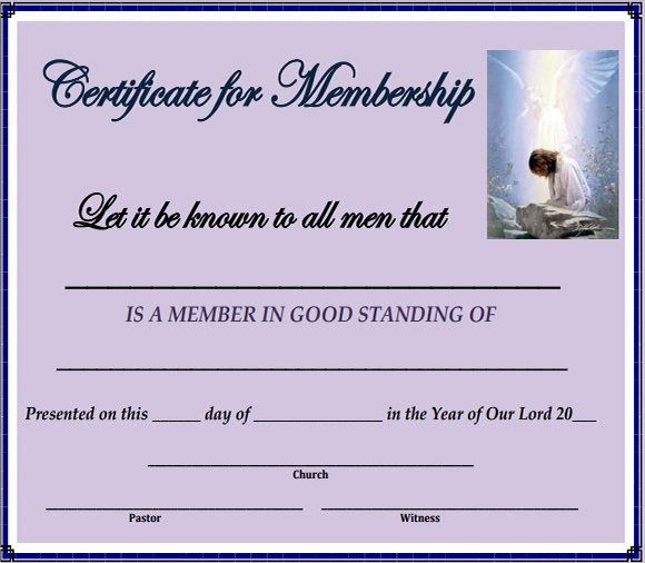 Llc Member Certificate Template New 15 Membership Certificate Templates – Free Samples