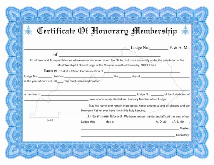 Llc Member Certificate Template Unique Certificate Membership Certificate