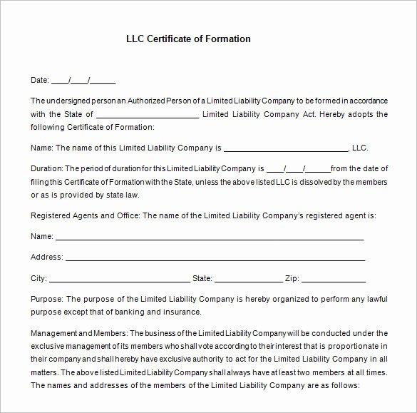 Llc Membership Certificate Template Beautiful 23 Membership Certificate Templates Word Psd In