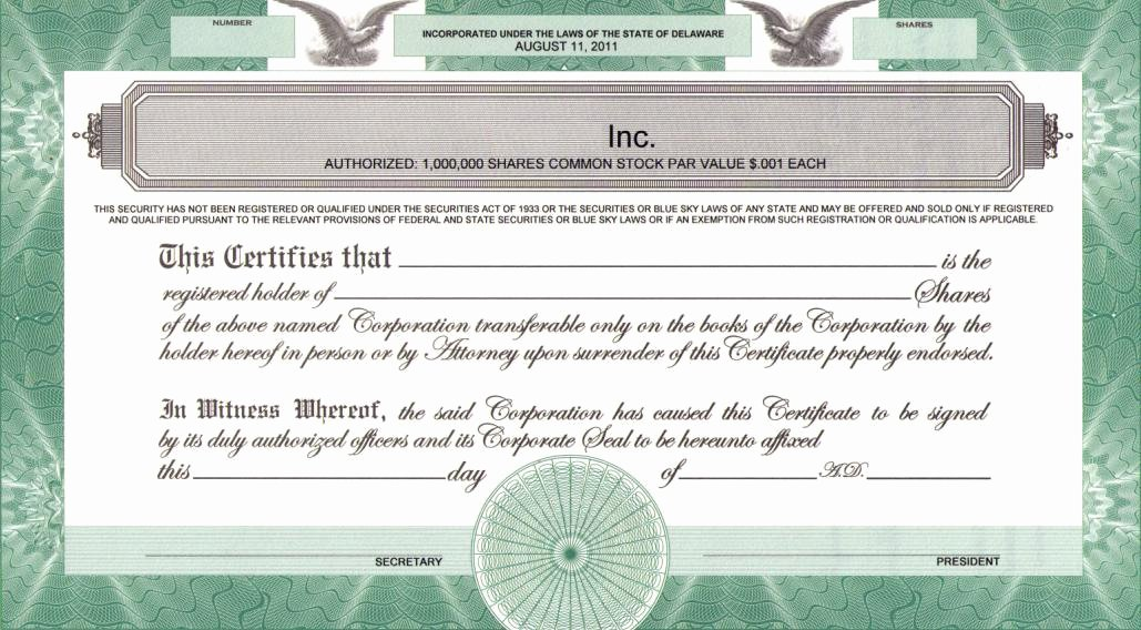 Llc Membership Certificate Template Inspirational Printing Legends On Certificates