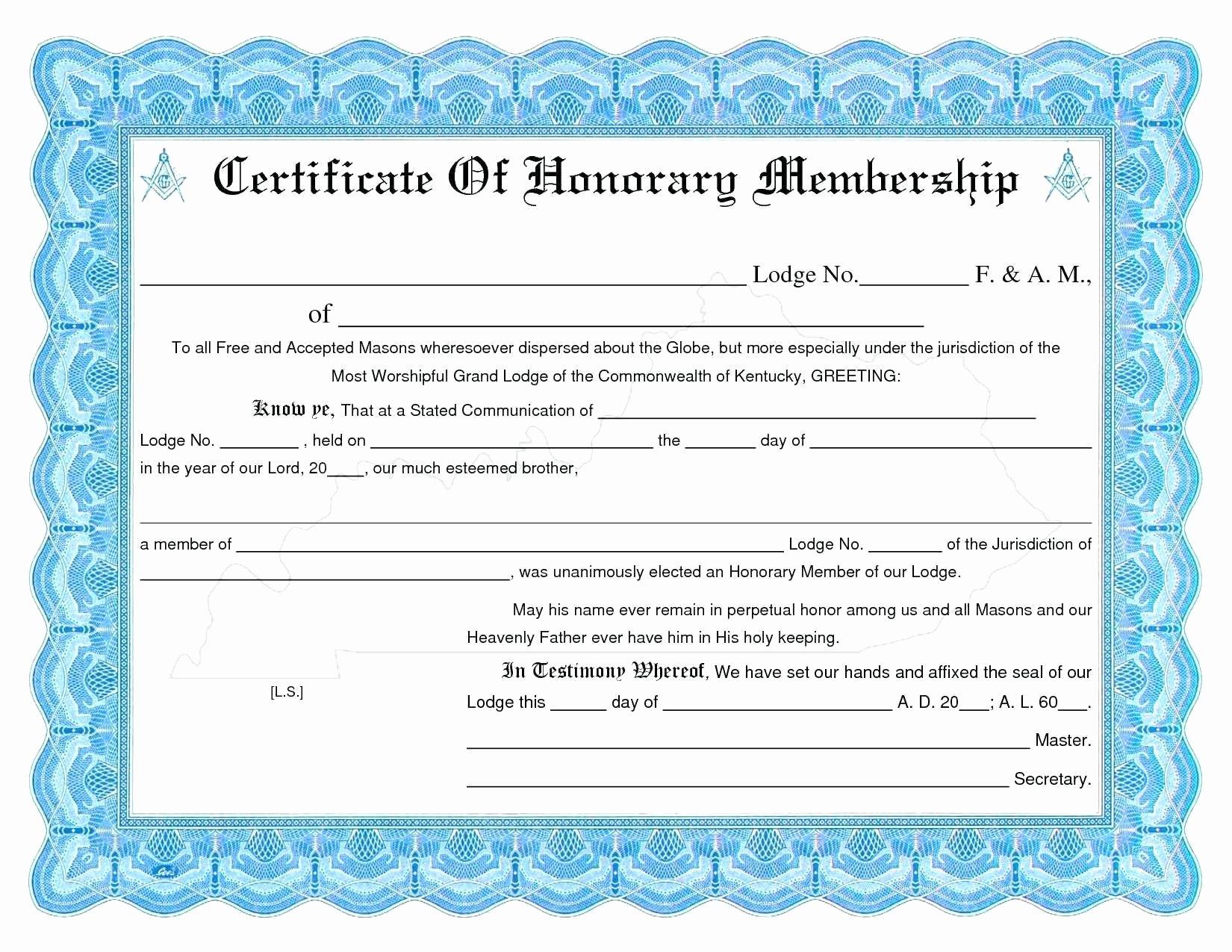 Llc Membership Certificate Template Unique Llc Membership Certificate Template Word Certificate