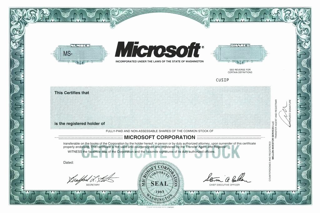 Llc Stock Certificate Template Inspirational Sample Stock Certificate Template – Goeventz