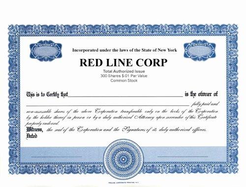 Llc Stock Certificate Template Lovely Stock Certificates Llc Certificates Certificates
