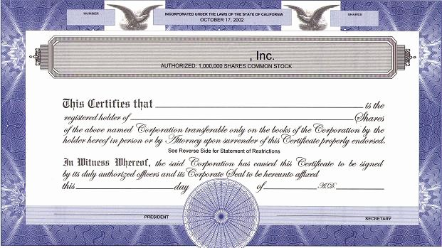 Llc Stock Certificate Template New How Do We issue Corporate S