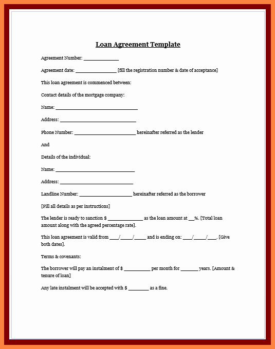 Loan Agreement Between Friends Template Best Of 8 Personal Loan Agreement Between Friends