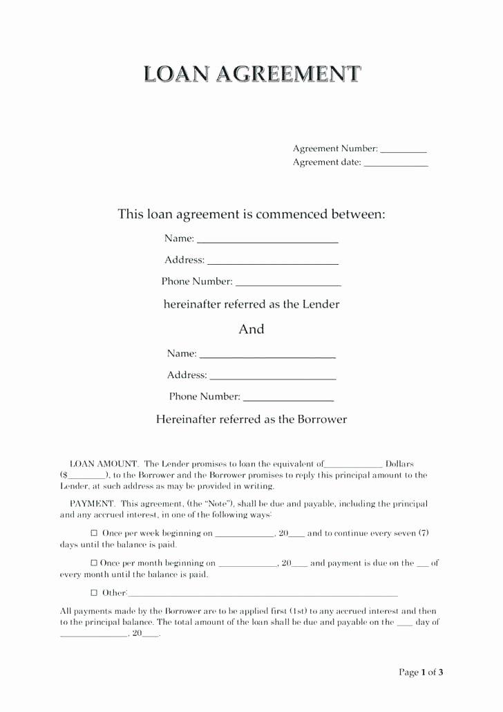 Loan Agreement Between Friends Template Elegant Loan Agreement Letter – Studiorc