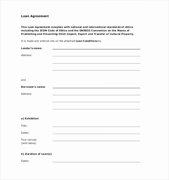 Loan Agreement Between Friends Template Elegant Simple Loan