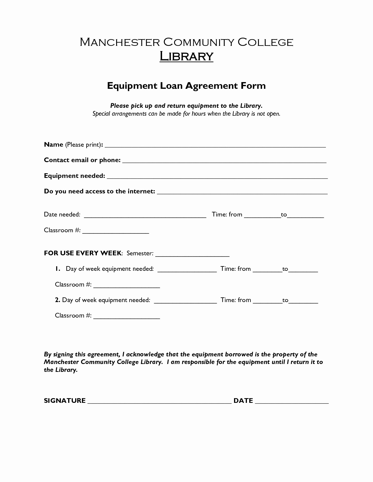 Loan Agreement Template Free Lovely Printable Sample Loan Agreement form form
