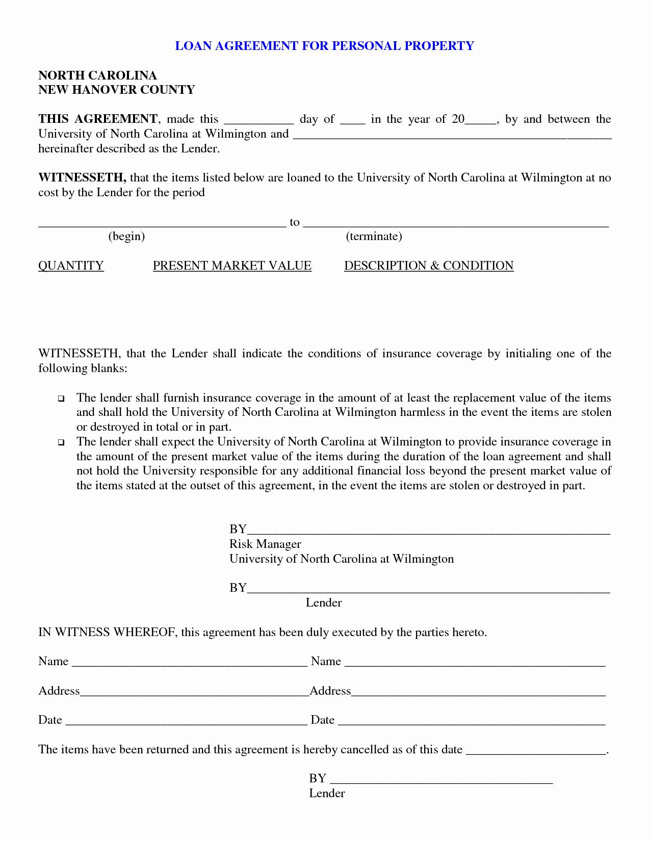 Loan Document Template Free Beautiful Free Personal Loan Paperwork —bad Credit Car Loans