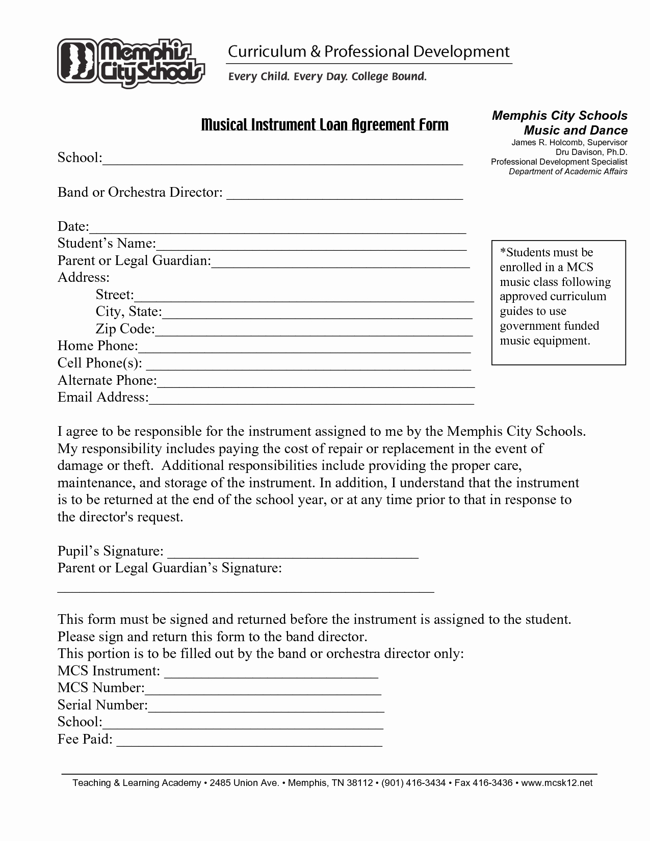 Loan Document Template Free Fresh Free Printable Loan Agreement form form Generic