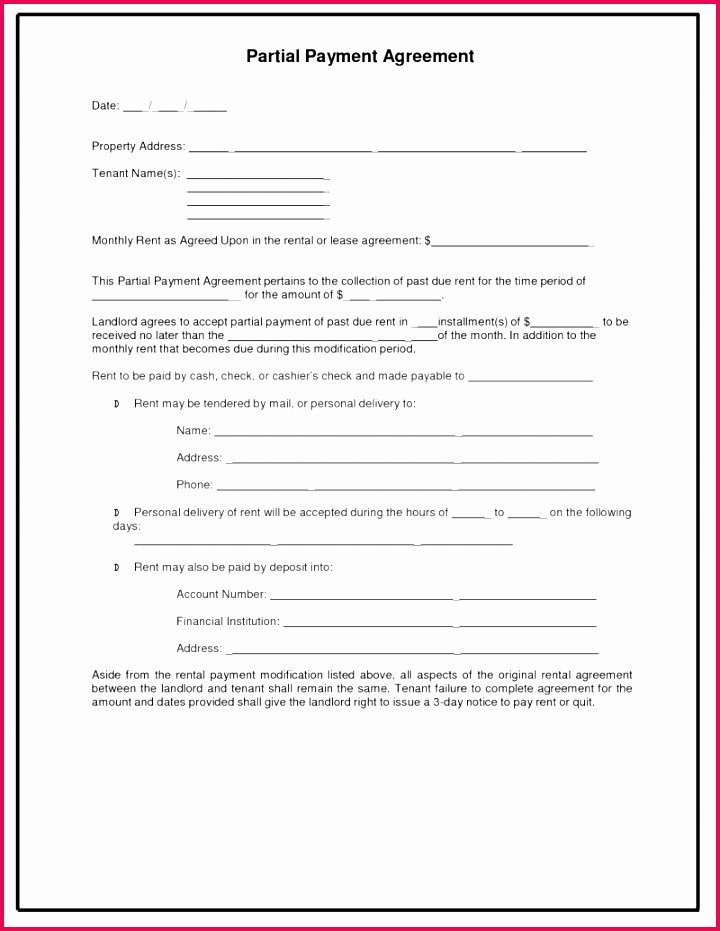 Loan Repayment Document Template Awesome 4 Blank Loan Agreement Template