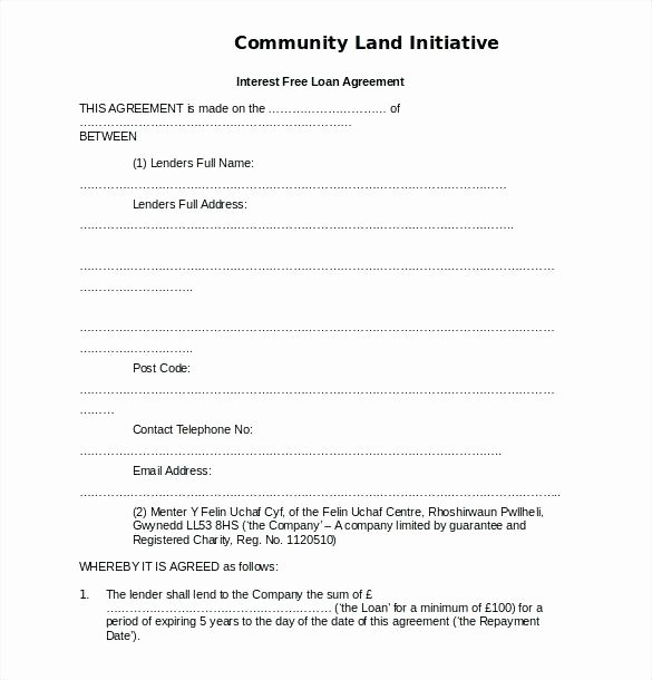 Loan Repayment Document Template Best Of Relationship Contract Sample Templates Agreements form