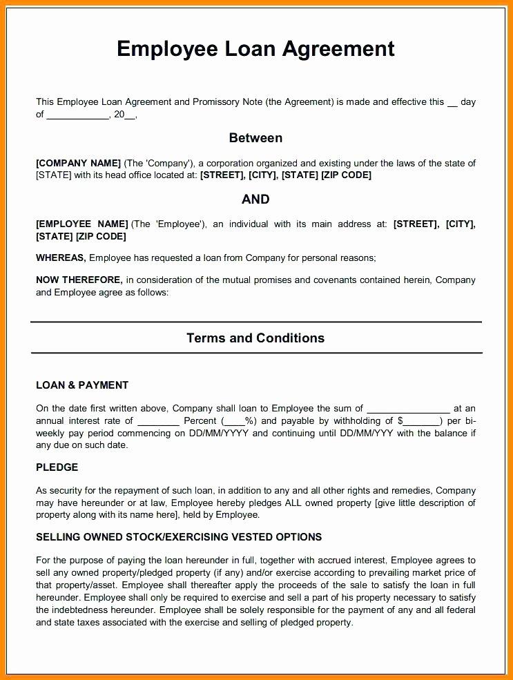 Loan Repayment Document Template Inspirational Free Loan Agreement Template Friend Loan Agreement