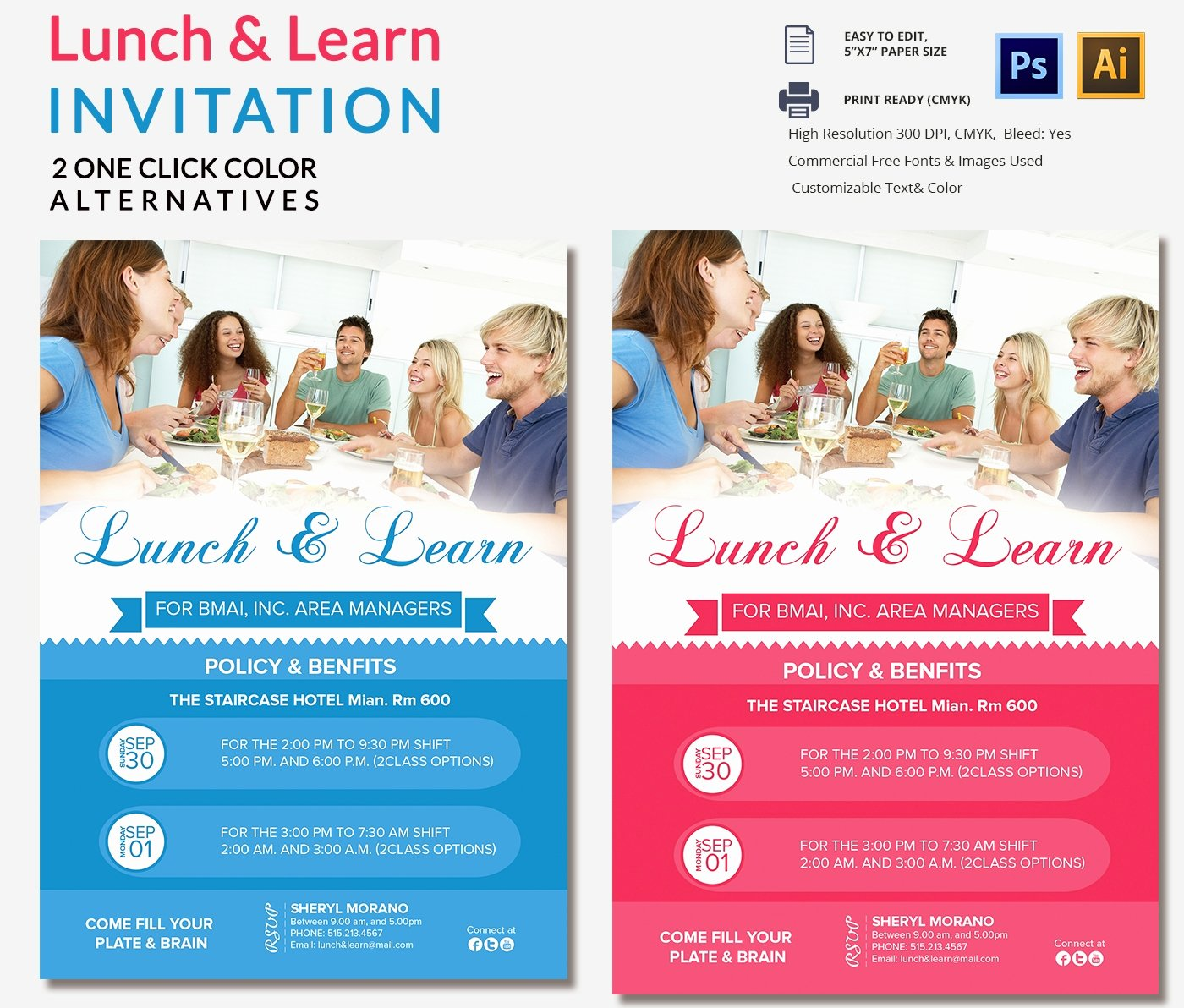Lunch and Learn Invite Template Lovely Lunch Invitation Template 25 Free Psd Pdf Documents