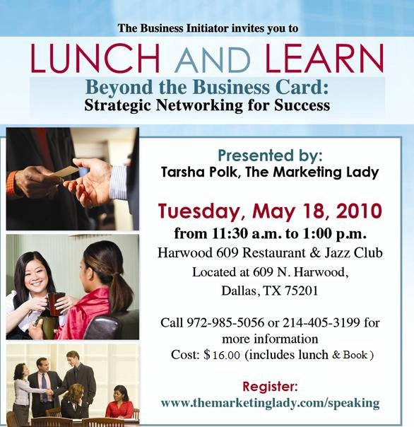 Lunch and Learn Invite Template Luxury Lunch & Learn Tickets