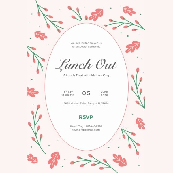 Lunch and Learn Invite Template Luxury Lunch Invitation Template 34 Free Psd Pdf Documents
