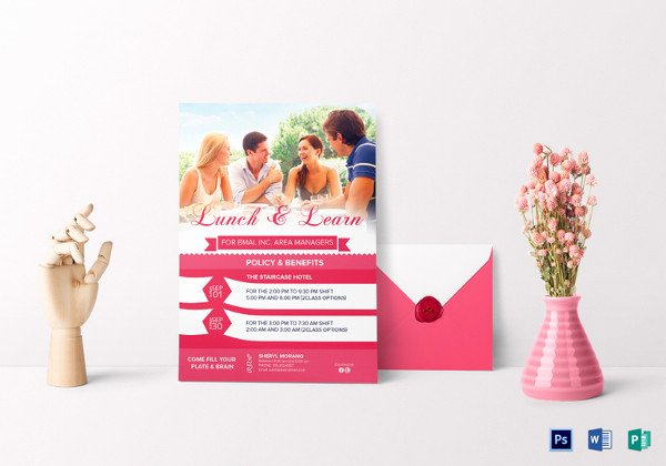 Lunch and Learn Invite Template New 27 Lunch Invitation Designs & Examples Psd Ai Vector Eps