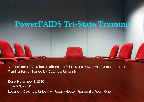Lunch and Learn Invite Template New Powerfaids Tri State User Group and Training Line