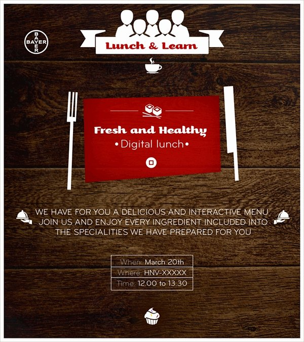 Lunch and Learn Invite Template Unique 15 Lunch Invitations