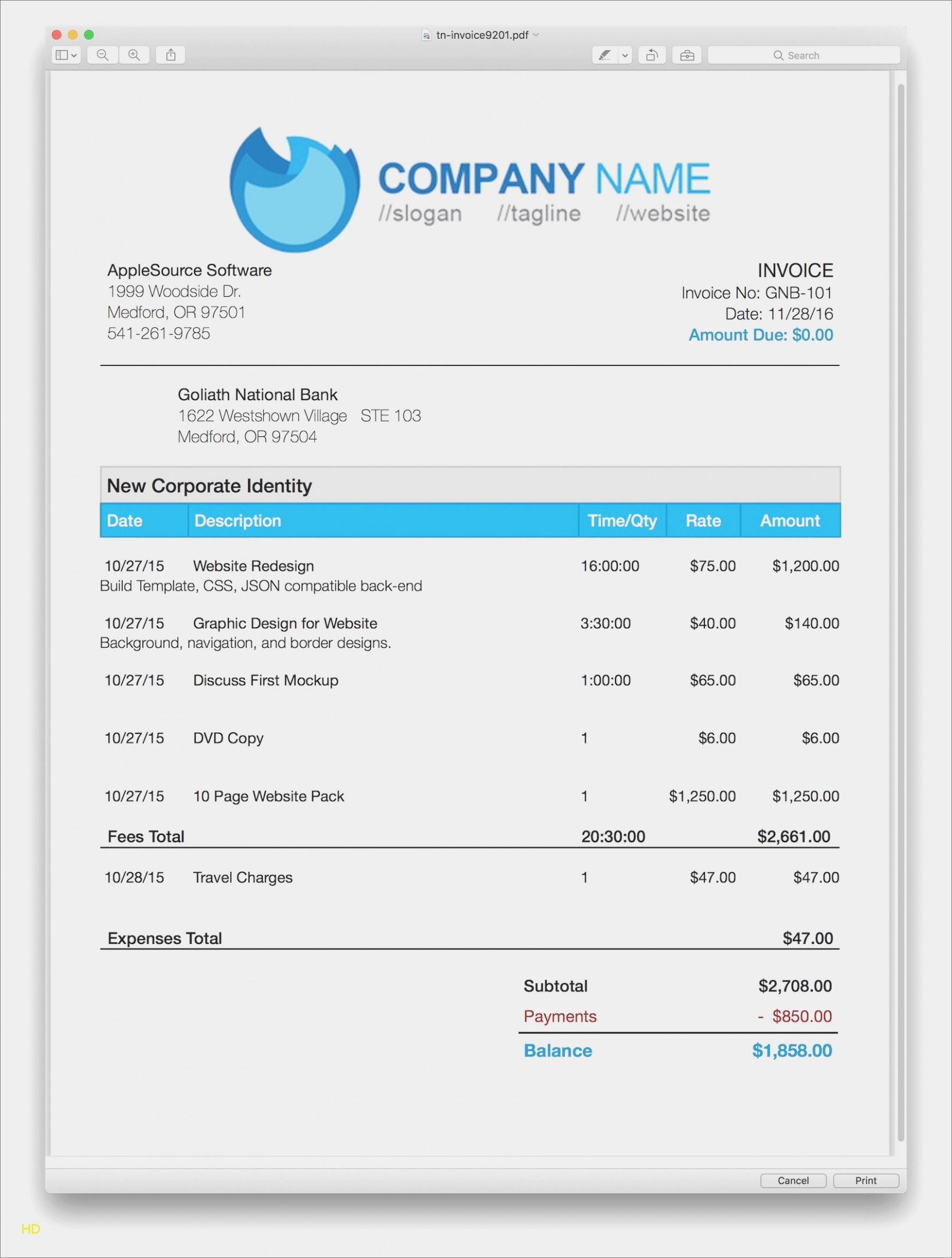 Mac Pages Invoice Template Awesome Apple Pages Invoice Template Keni Candle fortzone