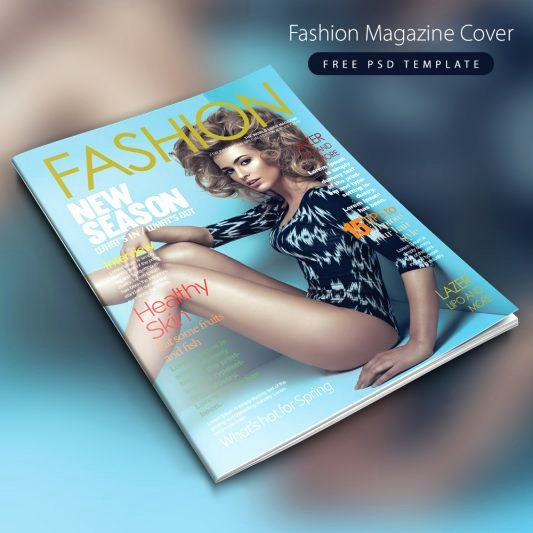 Magazine Cover Template Psd Awesome Free Graphics Psd
