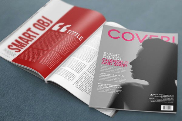 Magazine Cover Template Psd Best Of 20 Awesome Free Premium Mockup Psd Files & Design
