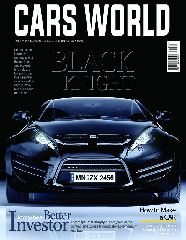 Magazine Cover Template Psd Best Of Car World Magazine Cover Psd Template – Graphicloads